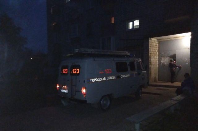ЧП произошло в одном из домов на ул. Российская.