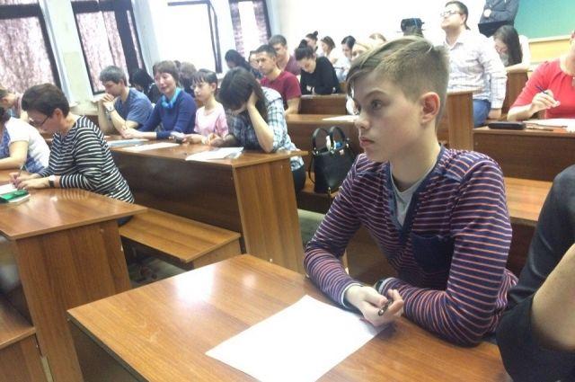 2603 человека написали диктант в Красноярске.