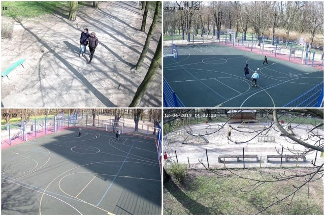 В парке им. Юрия Гагарина установили видеонаблюдение