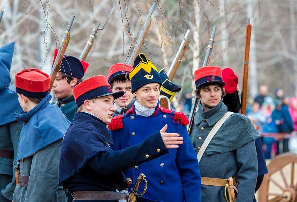 Французы держат совет перед наступлением