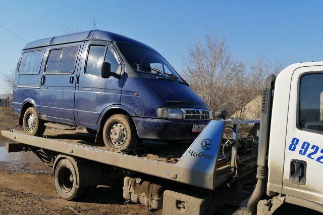 В Бузулуке задержан нетрезвый водитель автобуса без прав.