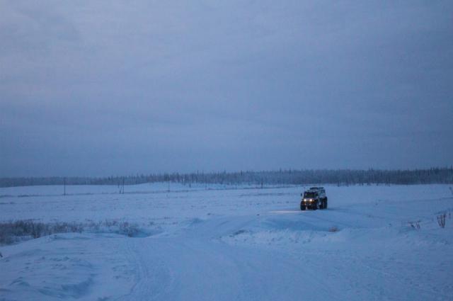 Почту в отдаленные поселки Ямала доставят на вездеходе