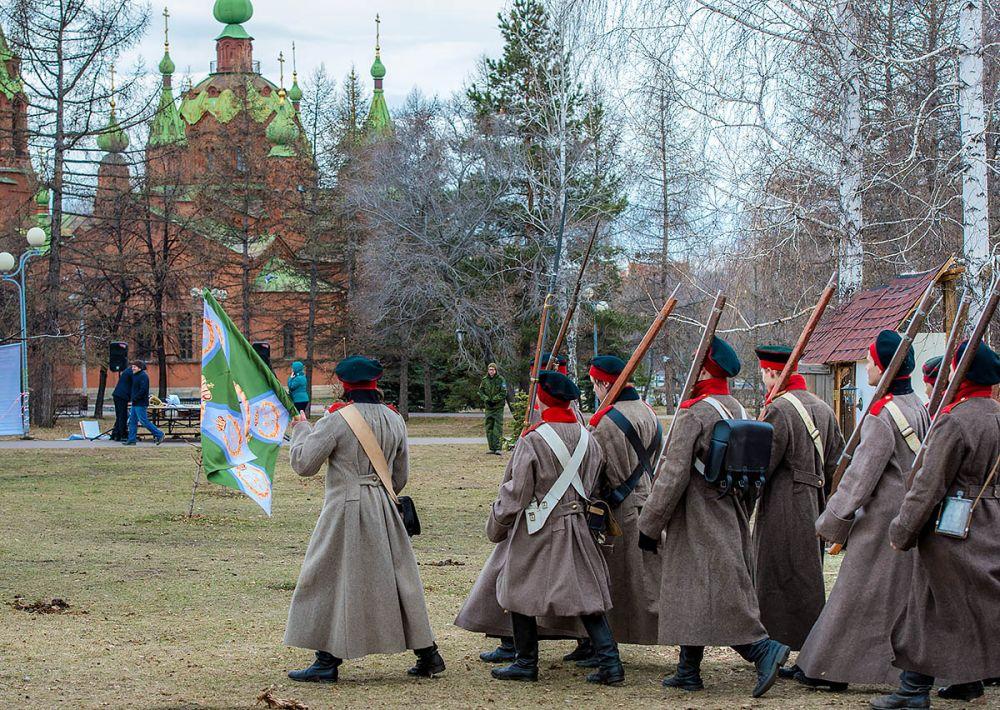 Русская армия выходит на позиции