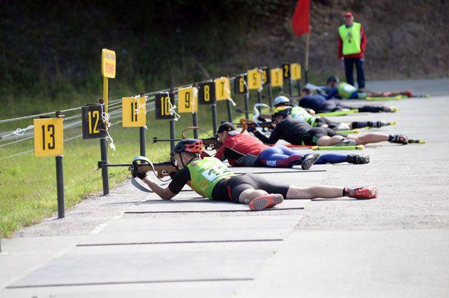 Чемпионат по летнему биатлону