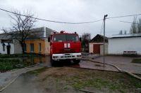 В городе Очаков Николаевской рано утром понедельника случился пожар в здании начальной школы.