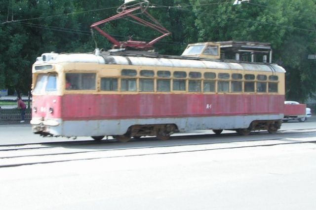 Трамваи с вагонами МТВ-82 ходили в Воронеже до начале 2000-х.