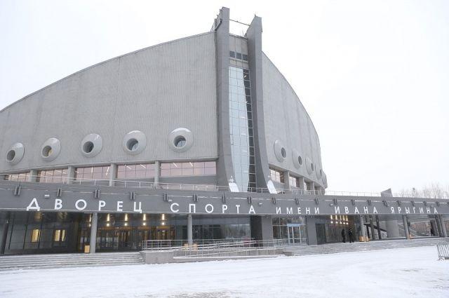 Ограничения на въезхд введут возле дворца спорта им. Ивана Ярыгина.