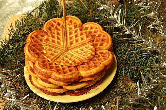 На празднике будут печь венские вафли.
