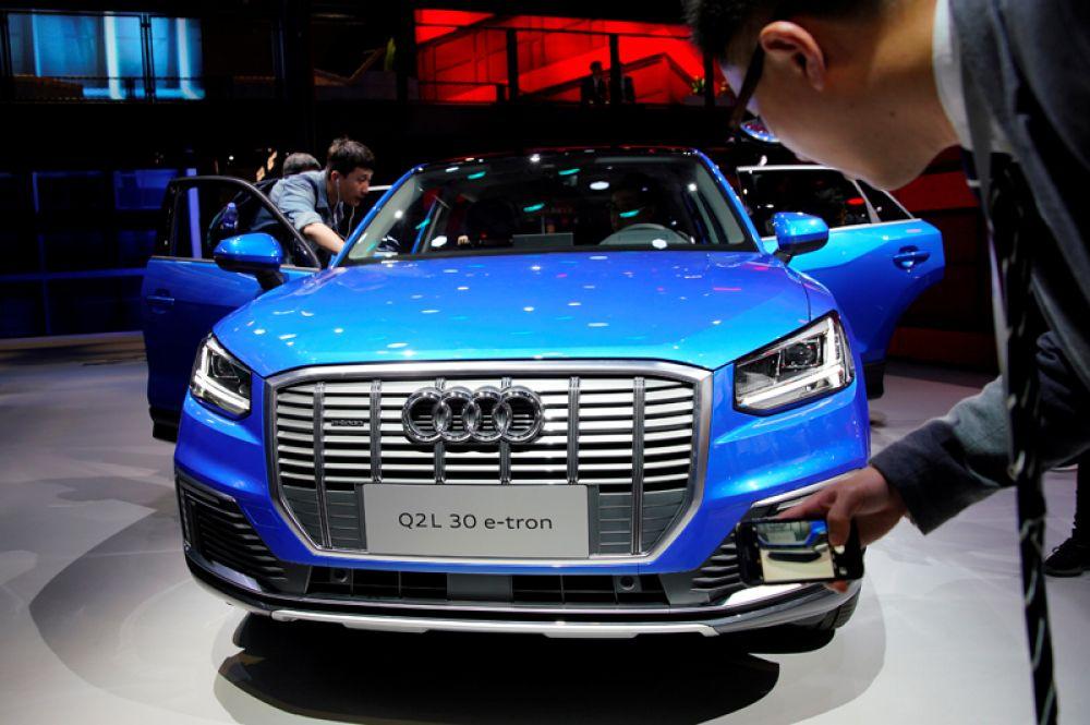 Концепт-кар Audi Q4 e-tron.
