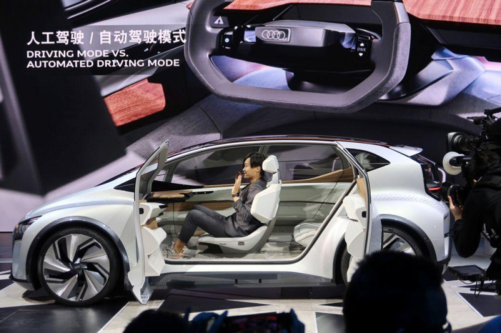Концепт-кар Audi AI:me.