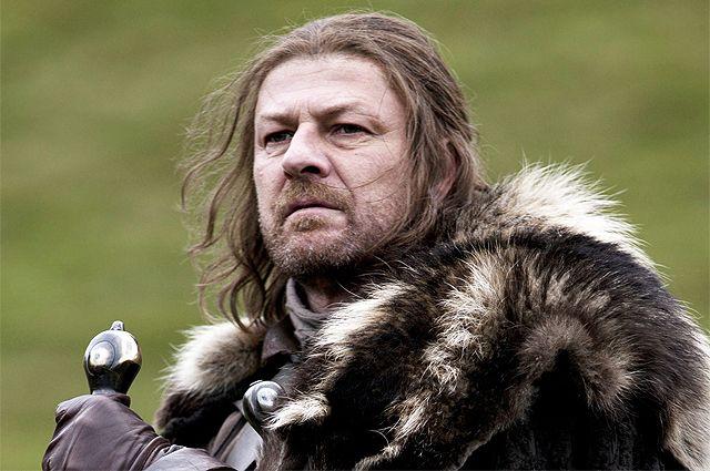 Шон Бин в роли Эддарда Старка. «Игра престолов», 2011 г.