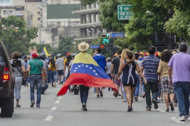 Венесуэла получила первую партию гуманитарной помощи от Красного Креста
