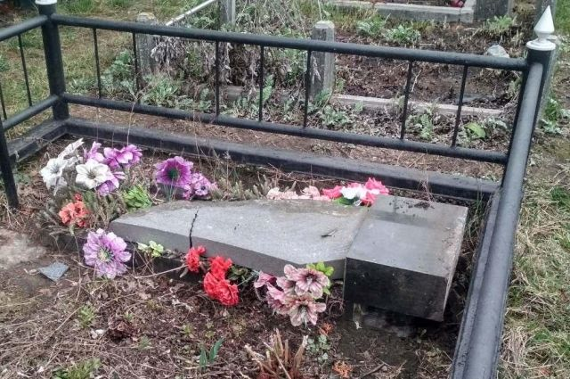 Под Киевом пьяные дети ограбили завод и устроили погром на кладбище
