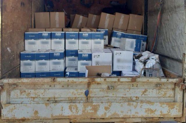 В Оренбурге  обнаружена «Газель» с 2901 бутылкой нелегальной водки