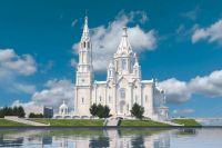 Место под храм благословил в 2012 году патриарх Кирилл, побывав в Красноярске с визитом.