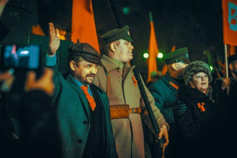 Однажды двойник Ленина возглавил колонну ростовских коммунистов.