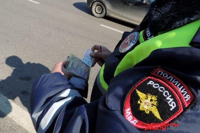 Автоинспекторы на улице задержали калининградца с амфетамином