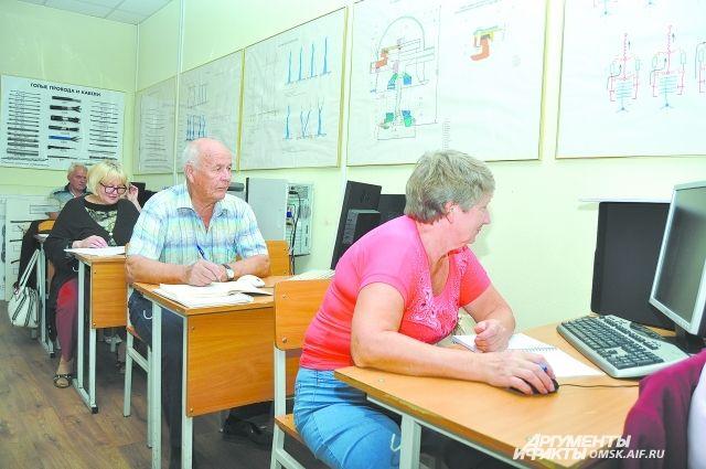 Омская область стала лидером по переобучению предпенсионеров