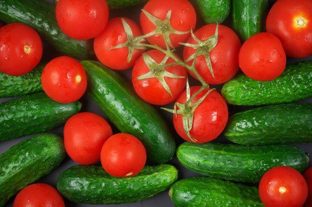 Война огурцов с помидорами. Опасен ли салат из этих овощей для здоровья    Продукты и напитки   Кухня   Аргументы и Факты