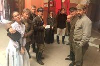 Во время съёмок исторического криминального телефильма о Ростове-на-Дону.