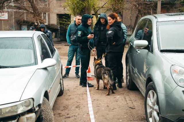 В Днепре проверка документов закончилась стрельбой, погоней и ДТП