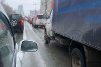 Пробки в Новосибирске
