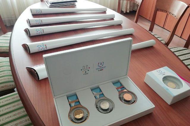 Факелы передадут на хранение в музеи Барнаула