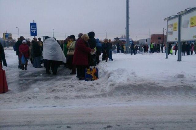 В Омске эвакуируют ТРЦ «Мега»