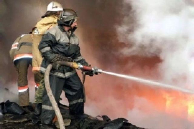 В Тобольском районе горела двухкомнатная квартира