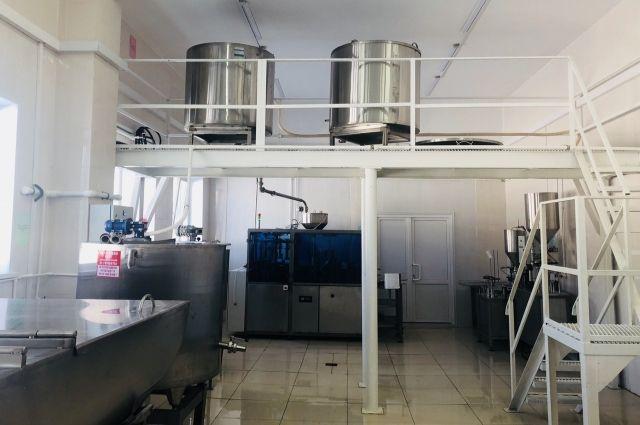 В сельскохозкомплексе Ноябрьска открыли новый молочный цех