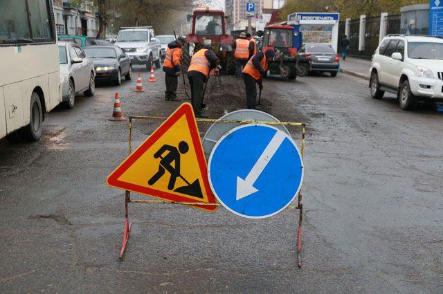 С понедельника, 22 апреля, в Сыктывкаре начнётся ремонт дорог на четырёх улицах.