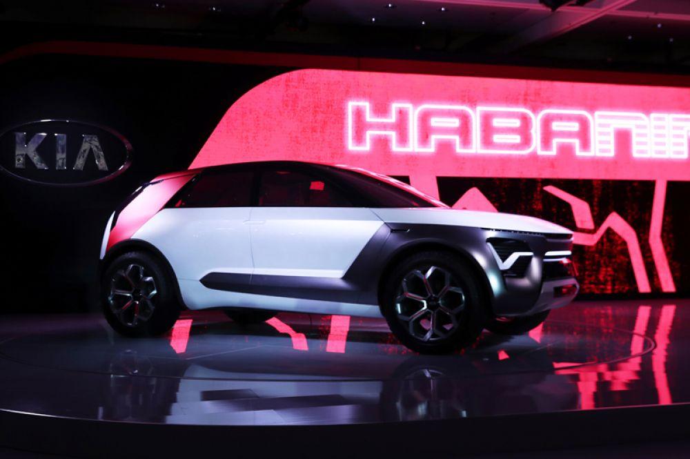А Kia продемонстрировала новый концепт-кар Habaniro.