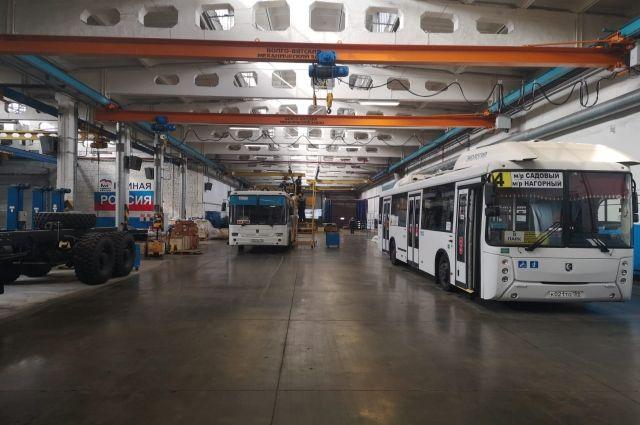 Автопарк Ноябрьска пополнят девять новых низкопольных автобусов
