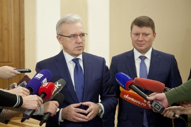 О своем отпуске глава региона сообщил на сессии Заксобрания после отчета за 2018 год