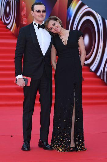 Актеры Егор Бероев и Ксения Алферова.