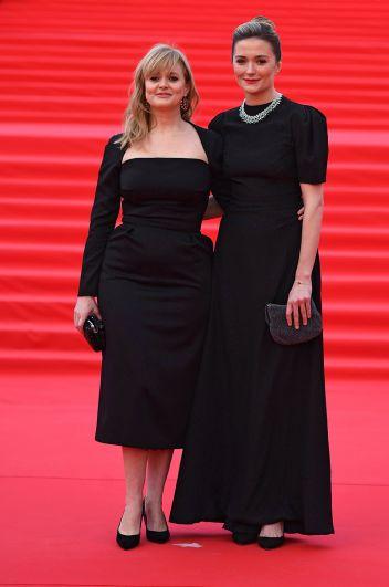 Актрисы Надежда Михалкова и Анна Михалкова.