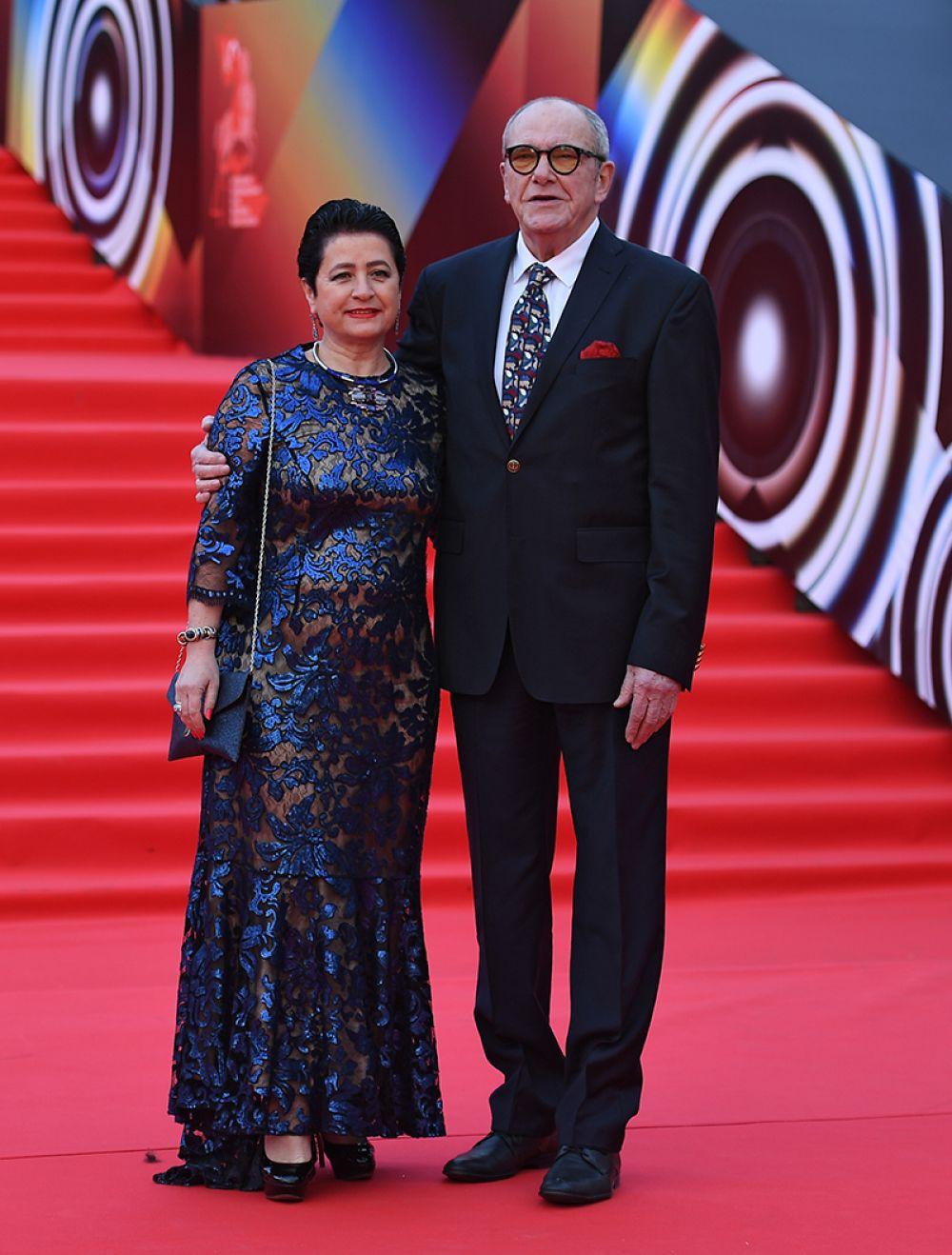 Актер Эммануил Виторган с супругой Ириной.
