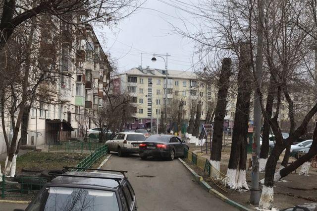 ЧП произошло в районе Предмостной площади.