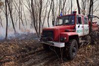 В Тюменской области ввели  пожароопасный сезон