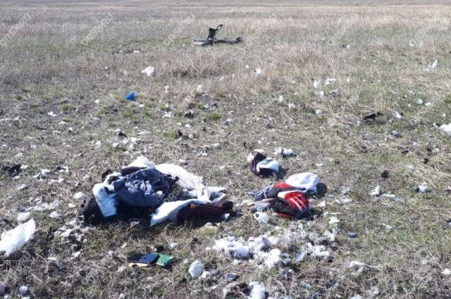 Под Акбулаком найден скелет мигранта - СМИ
