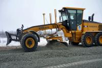 В этом году подрядчики введут 72 км трассы «Надым-Салехард» в щебне