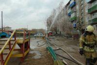 На тушении пожара работали 84 человека и 22 единицы техники