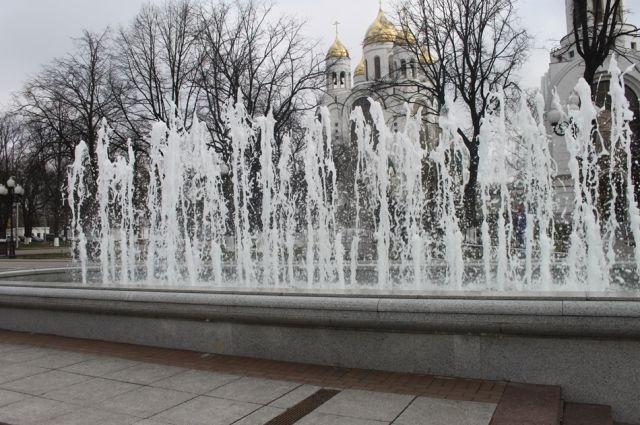 1 мая в Калининграде включат фонтаны