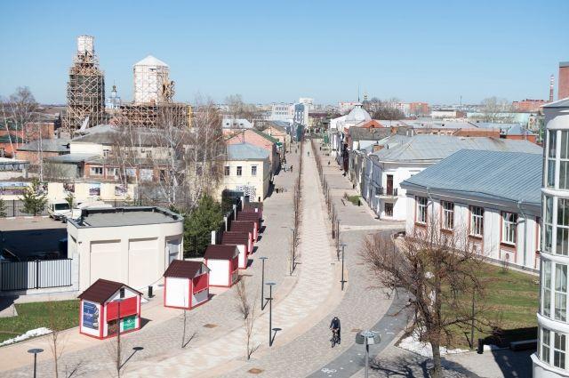 Улица Металлистов - место, где появится музейный квартал.