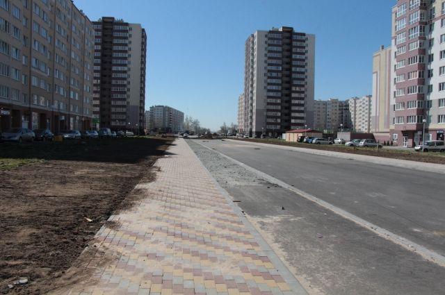 Реконструкция улицы Флотской выполнена на 70%