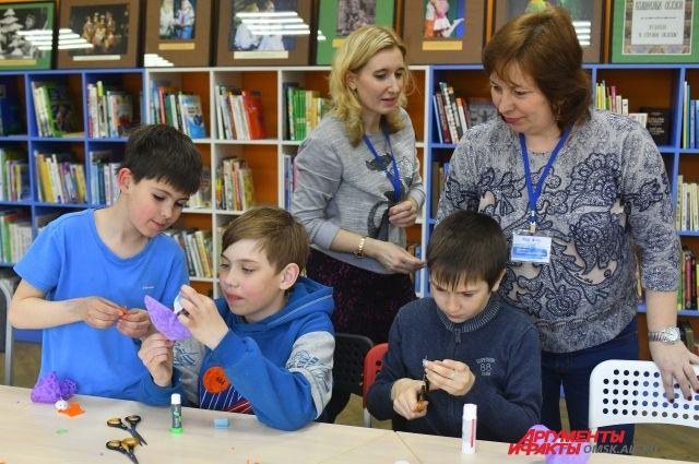 В Омской библиотеки прошли «библиосумерки»