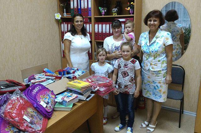 Новый гуманитарный склад открылся в Хабаровске.