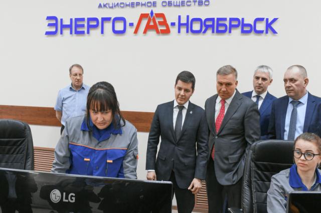 В Ноябрьске губернатору Ямала презентовали систему «Умные сети»