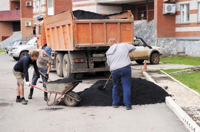 Подрядчиков обязали устранить недоделки в ремонте омских дворов