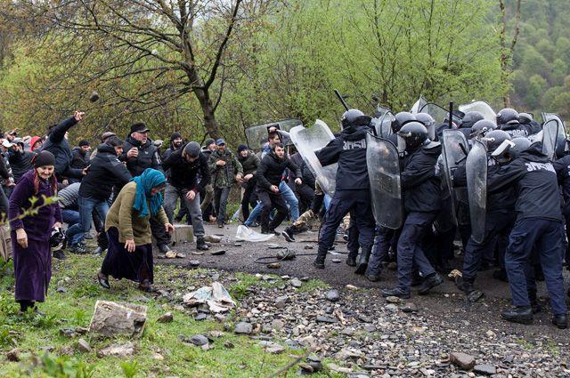 Беспорядки в Панкисском ущелье.